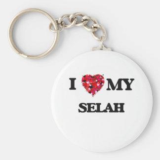 I love my Selah Basic Round Button Key Ring