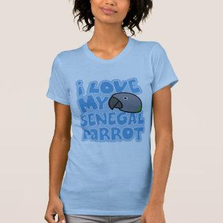 I Love My Senegal Ladies Twofer Shirt
