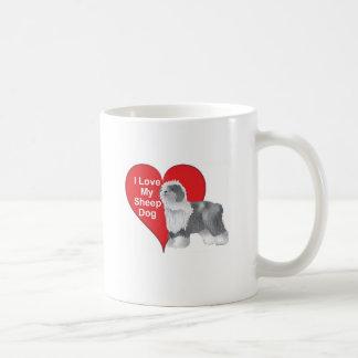 I Love My Sheep Dog Coffee Mug