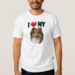 I Love My Sheltie Tshirt