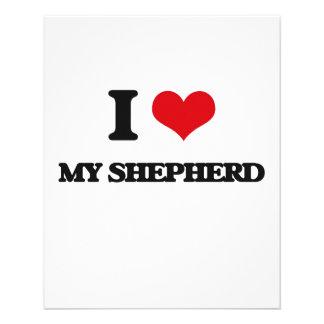 I Love My Shepherd Flyers