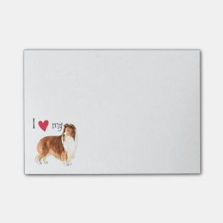 I Love my Shetland Sheepdog Post-it Notes