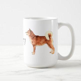 I Love my Shiba Inu Coffee Mug