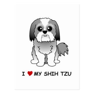 I love my Shih Tzu Post Card