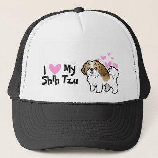 I Love My Shih Tzu (puppy cut) Trucker Hat