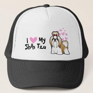 I Love My Shih Tzu (show cut) Trucker Hat
