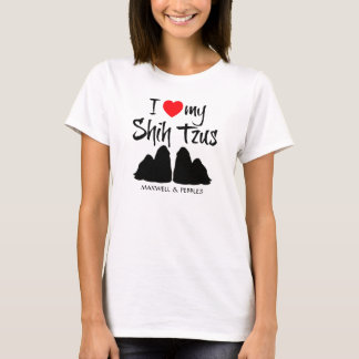 I Love My Shih Tzus T-Shirt