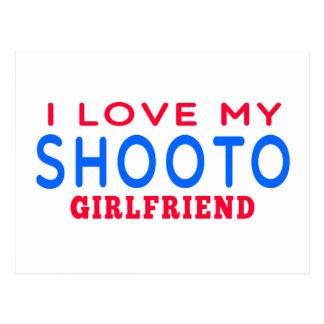 I Love My Shooto Girlfriend Postcards
