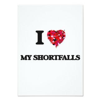 I Love My Shortfalls 13 Cm X 18 Cm Invitation Card