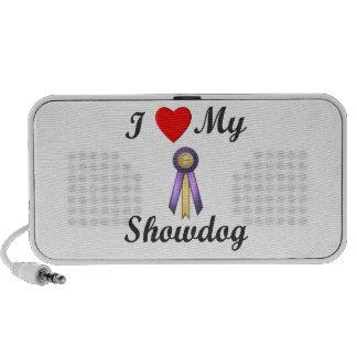 I Love My Showdog (Ribbon) Mp3 Speaker