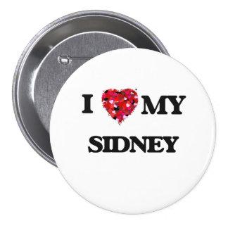 I love my Sidney 7.5 Cm Round Badge