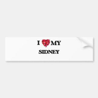 I love my Sidney Bumper Sticker