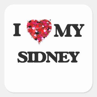 I love my Sidney Square Sticker