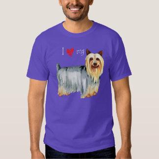 I Love my Silky Terrier Shirt