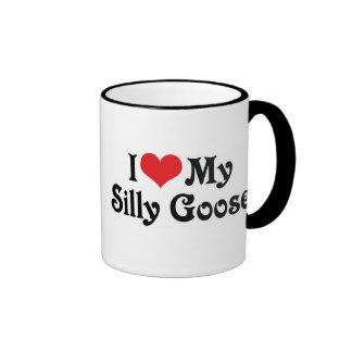 I Love My Silly Goose Mug