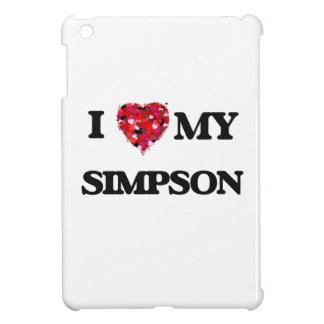 I Love MY Simpson Cover For The iPad Mini
