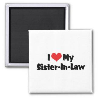 I Love My Sister-In-Law Magnet