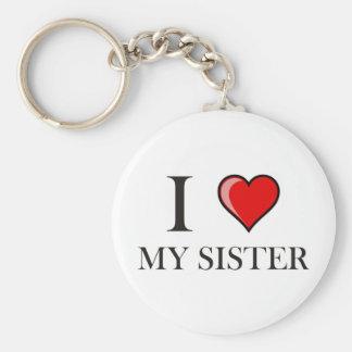 I love my Sister Key Chain