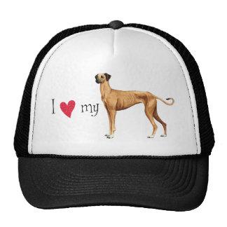 I Love my Sloughi Cap