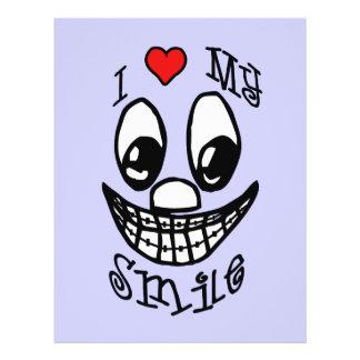 I Love My Smile 21.5 Cm X 28 Cm Flyer