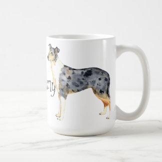 I Love my Smooth Collie Basic White Mug