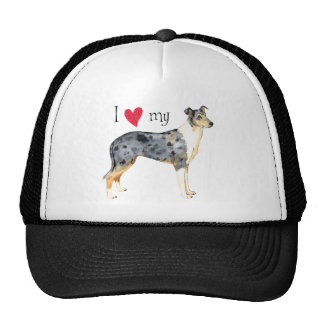 I Love my Smooth Collie Cap