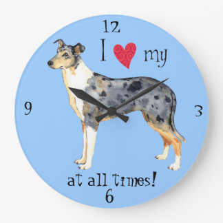 I love my Smooth Collie Wall Clocks
