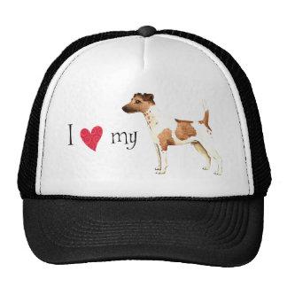 I Love my Smooth Fox Terrier Trucker Hat