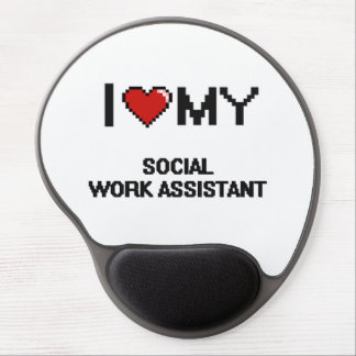 I love my Social Work Assistant Gel Mouse Pad