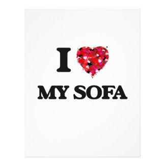 I love My Sofa 21.5 Cm X 28 Cm Flyer