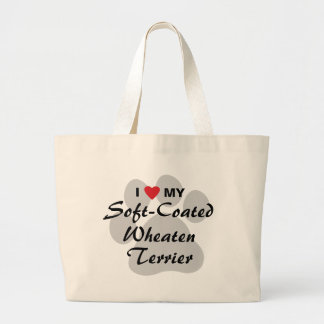 I Love My Soft-Coated Wheaten Terrier Bags