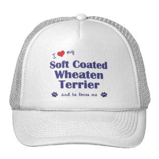 I Love My Soft Coated Wheaten Terrier (Male Dog) Cap