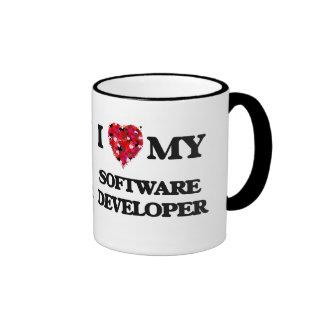 I love my Software Developer Ringer Mug