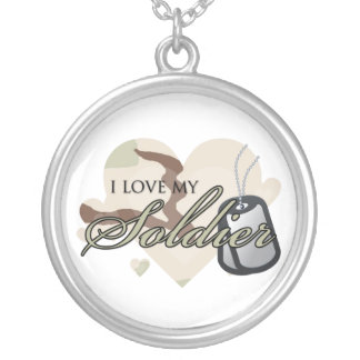 I love my Soldier Custom Necklace