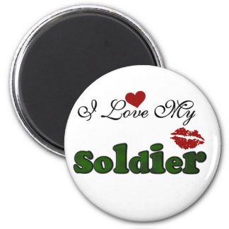 I Love My Soldier Tshirts and Gifts Magnet