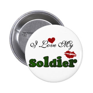 I Love My Soldier Tshirts and Gifts Pins
