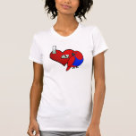 I Love my Solomon Island Eclectus (hen) T Shirts
