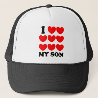 I Love My Son Trucker Hat