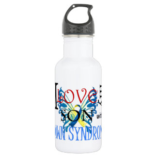 I Love My Son with Down Syndrome 532 Ml Water Bottle