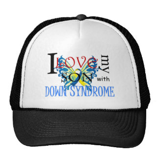 I Love My Son with Down Syndrome Cap