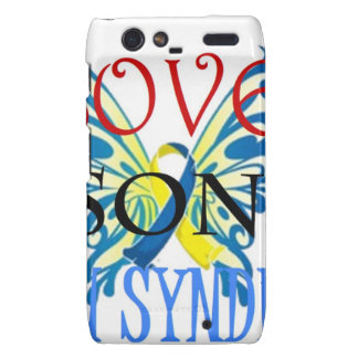 I Love My Son with Down Syndrome Droid RAZR Case