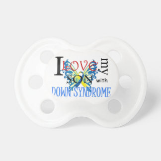 I Love My Son with Down Syndrome Pacifier