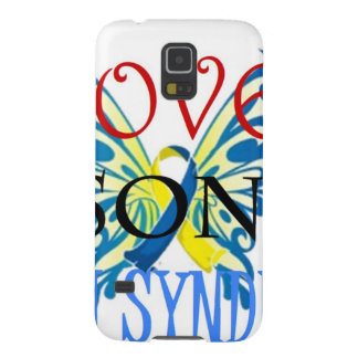 I Love My Son with Down Syndrome Galaxy S5 Cover
