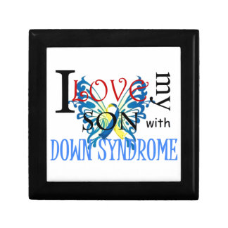 I Love My Son with Down Syndrome Keepsake Box