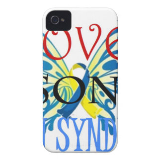 I Love My Son with Down Syndrome iPhone 4 Cases