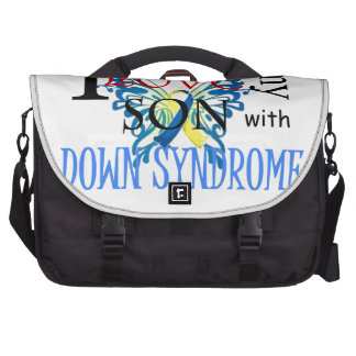 I Love My Son with Down Syndrome Commuter Bags