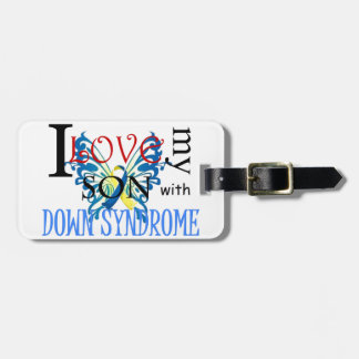 I Love My Son with Down Syndrome Tags For Luggage