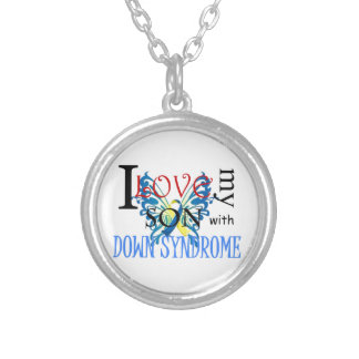 I Love My Son with Down Syndrome Personalised Necklace
