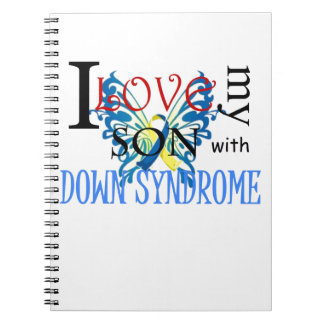 I Love My Son with Down Syndrome Spiral Note Book