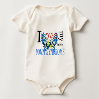 I Love My Son with Down Syndrome Romper